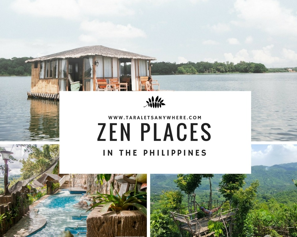 Zen Places in the Philippines: Relax and Unwind